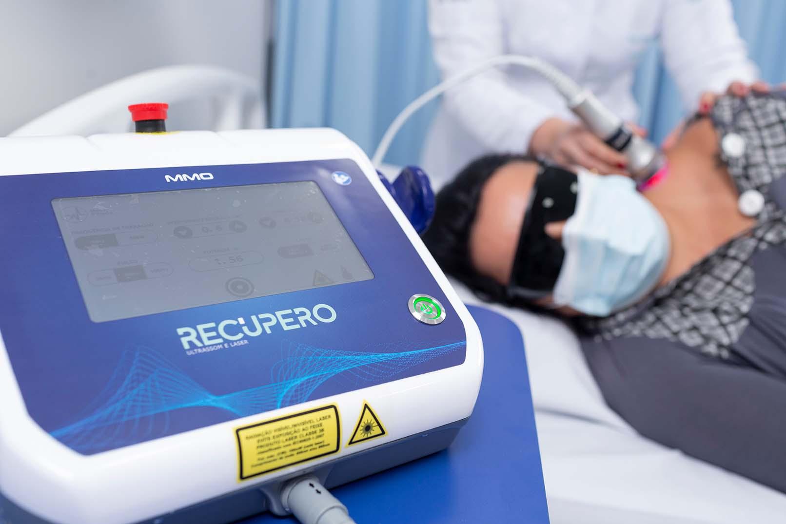 Paciente passa por tratamento de dor crônica no Norden Hospital